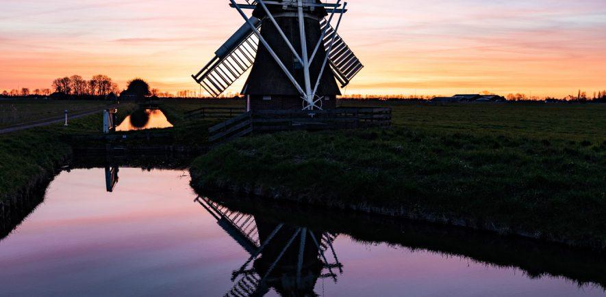 Molen, Groningen.